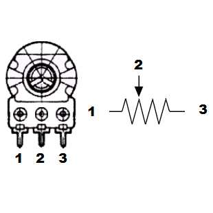 Removing and installing thermostat housing and coolant pipe  rear besides Emerson Pro CTS Blender No Load Pot Instructions together with Resistor Schematic Symbol For Carbon additionally Integrated Circuit Schematic Symbols furthermore Simple Triac Controlled Ceiling Fan Circuit. on potentiometer wiring
